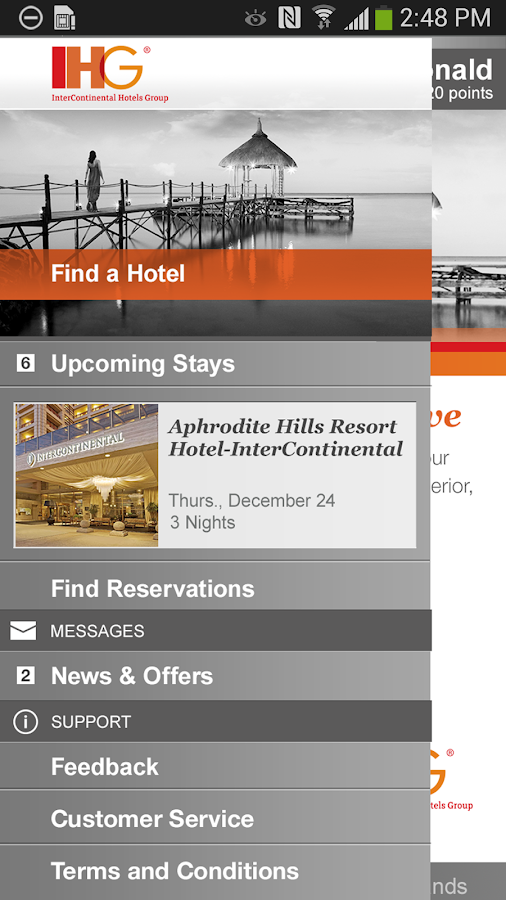 IHG® - screenshot