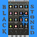 BLACKSTONED APEX/NOVA/ADW icon