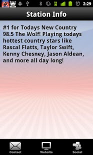 98.5 The Wolf - screenshot thumbnail