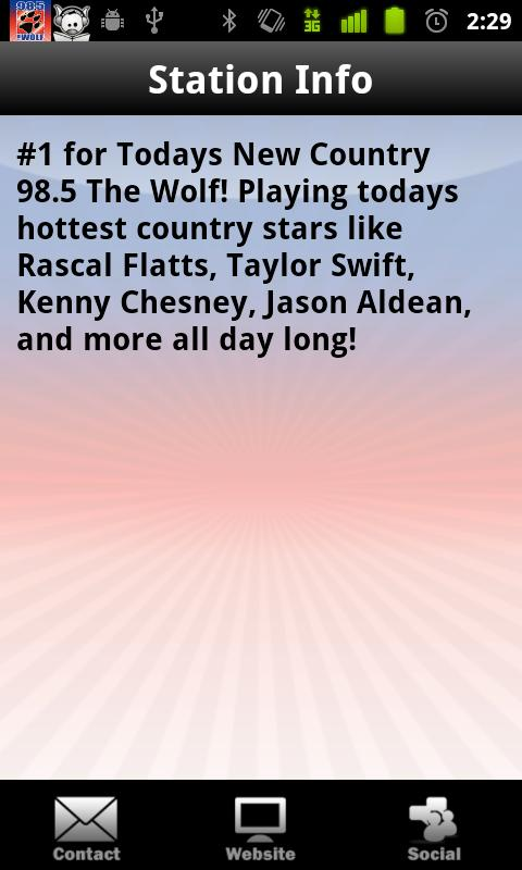 98.5 The Wolf - screenshot