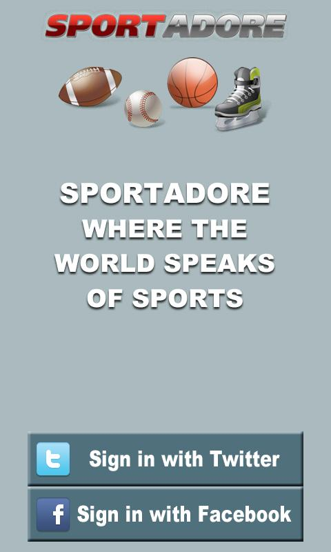 Sportadore - screenshot