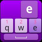 Cool Purple Keyboard Skin icon