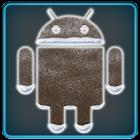 ICS Pro WHITE Blue GO Theme+ icon