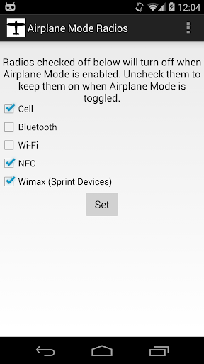 Airplane Mode Radios *ROOT*