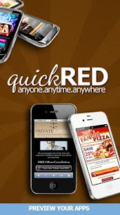 QuickRed Mobile Apps Previewer - screenshot thumbnail