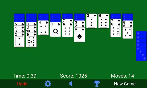 Spider Solitaire 3.2.1.0 screenshots 2
