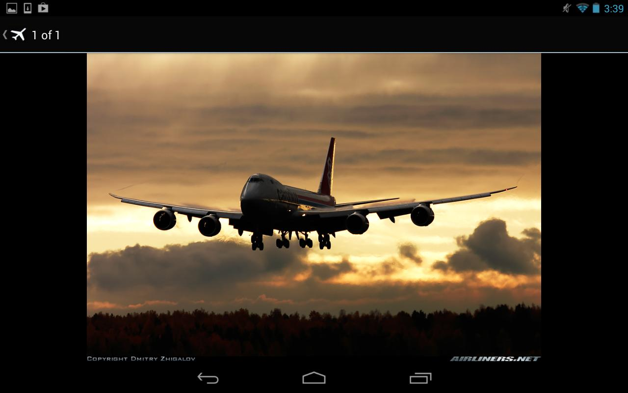 Airliners.net- screenshot
