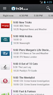 TV Guide tv24.co.uk - screenshot thumbnail