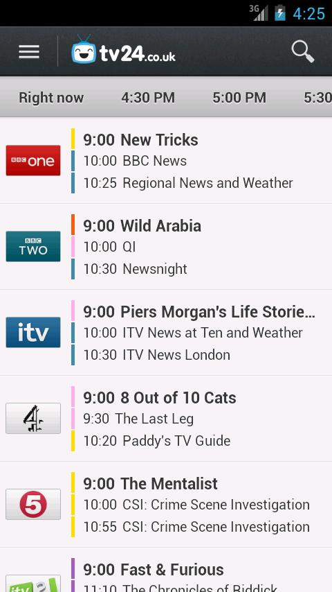 TV Guide tv24.co.uk - screenshot