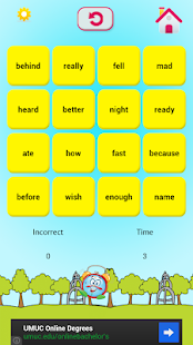 Sight Words 2 with Word Bingo- screenshot thumbnail