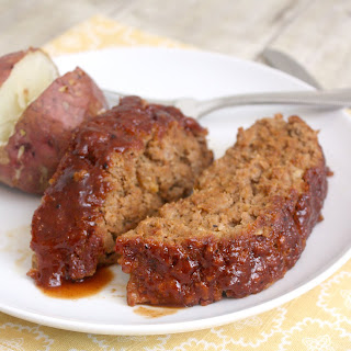 Honey Barbecue Turkey Meatloaf.
