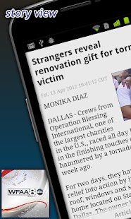 WFAA -North Texas News,Weather - screenshot thumbnail