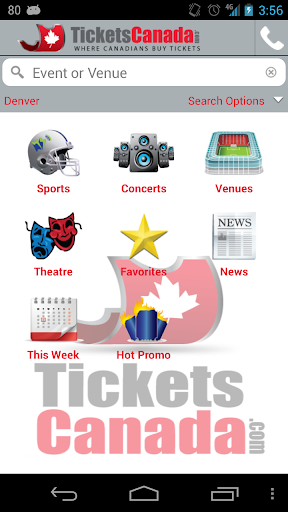 Tickets Canada