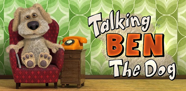 Скачать на андроид Talking Ben the Dog v. 1.2.3 (Говорящая собака Бен)