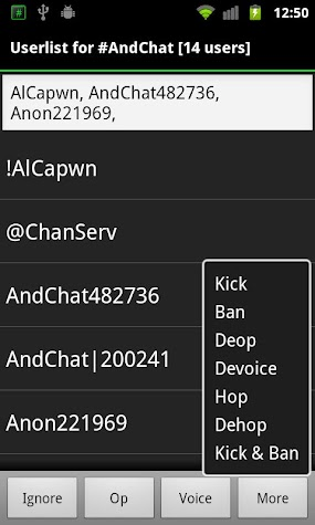 AndChat (Donate) Screenshot