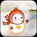 Super Action Snowman LWP icon