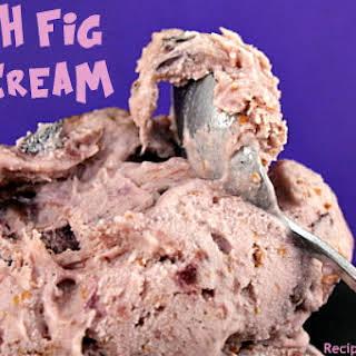 Fresh Fig Ice Cream.