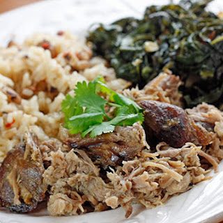 Skinny Slow Cooked Pernil (Puerto Rican Pork)