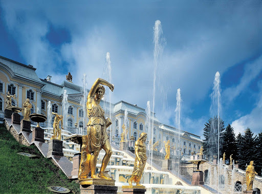 Royal-Caribbean-Grand-Cascade-Peterhof-Palace - Visit the Grand Cascade at the magnificent 18th-century Peterhof Palace when your cruise ship calls on St. Petersburg, Russia.