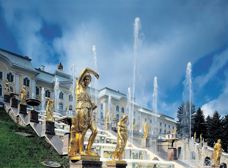 Visit the Grand Cascade at the magnificent 18th-century Peterhof Palace when your cruise ship calls on St. Petersburg.