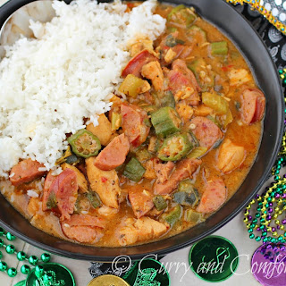 Spicy Chicken and Sausage Gumbo