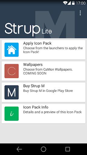 Strup M Lite - Icon Pack