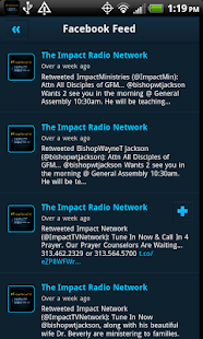 The Impact Radio Network - screenshot thumbnail