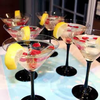 Bellini Meanie Martini.