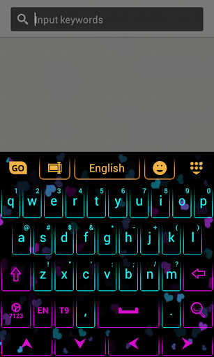 彩色鍵盤應用程序