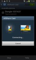 Screenshot of AllShareCast Dongle S/W Update