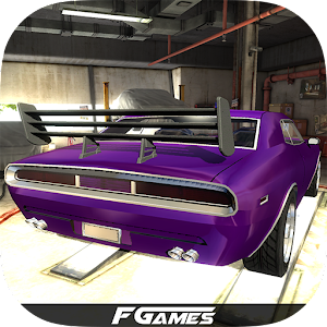 Drift 3D Modified American Car for PC and MAC