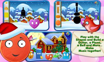 Screenshot of Friendly Shapes XMAS Storybook