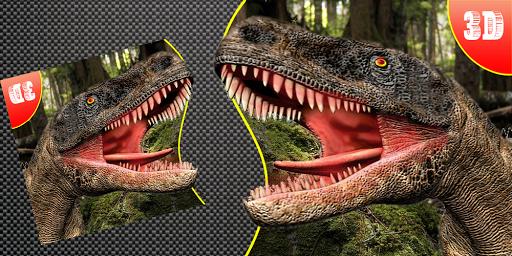 Dinosaur War 3D: Shooting