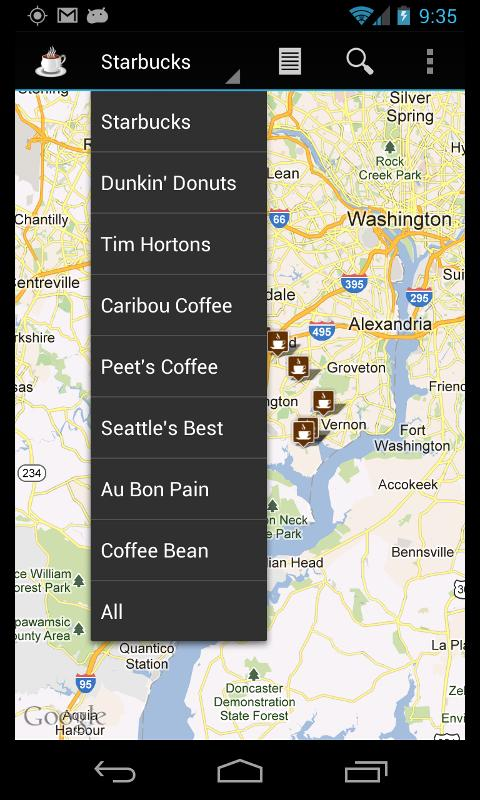 Coffee Finder Pro - screenshot