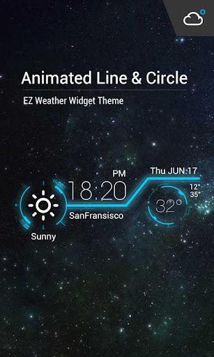 Animation Weather Cool widget 15.1.0.45151_45294 screenshots 1