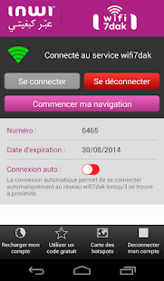 WiFi  7dak – inwi- screenshot thumbnail
