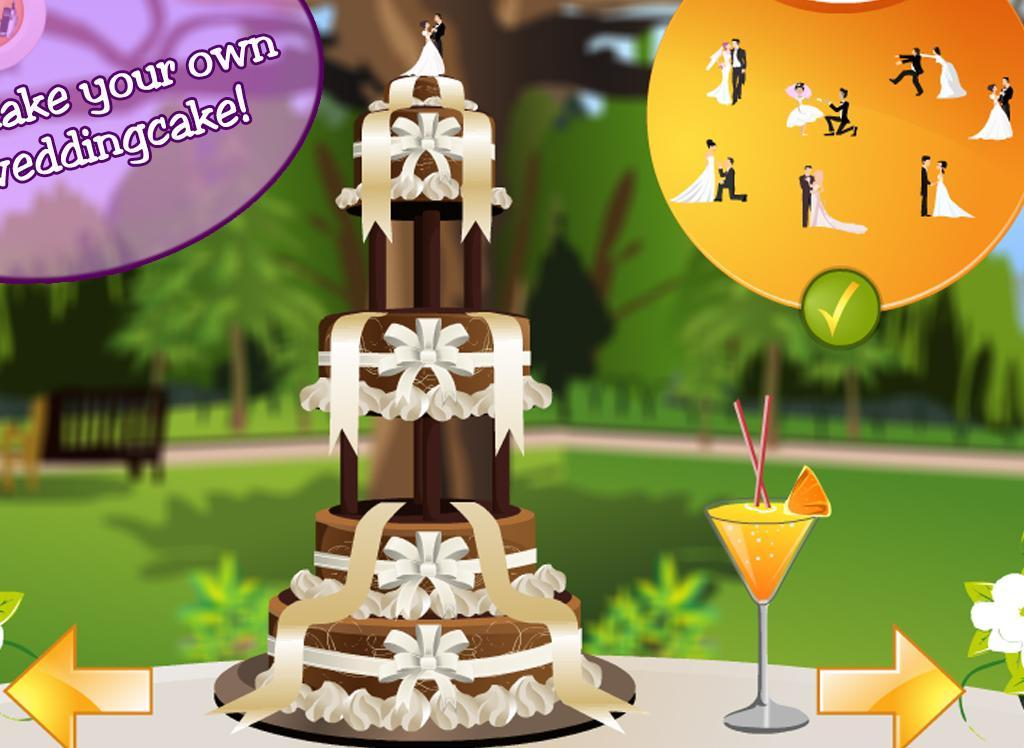 Wedding cake decoration game android apps on google play for 143dressup games decoration