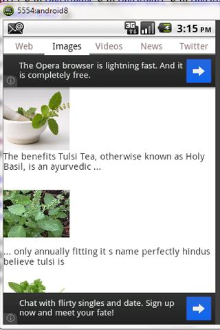Frompo Mobile Search- screenshot