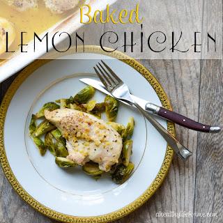 Baked Lemon Chicken.