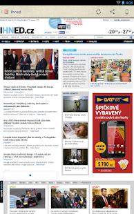 České Noviny - screenshot thumbnail