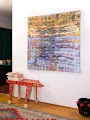 <p> <strong>Installation view, <em>Blue-Yellow Ripples</em></strong></p>