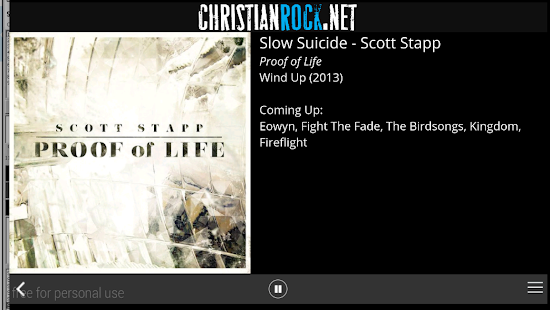 ChristianRock.Net- screenshot thumbnail