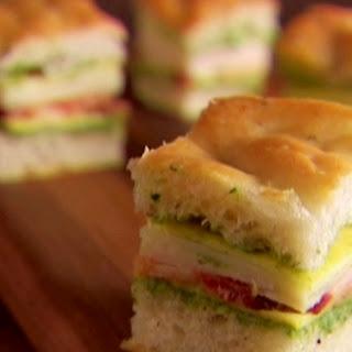 Mini Italian Club Sandwiches Recipe