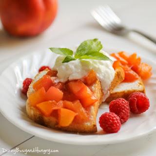 Nectarine Compote Dessert.
