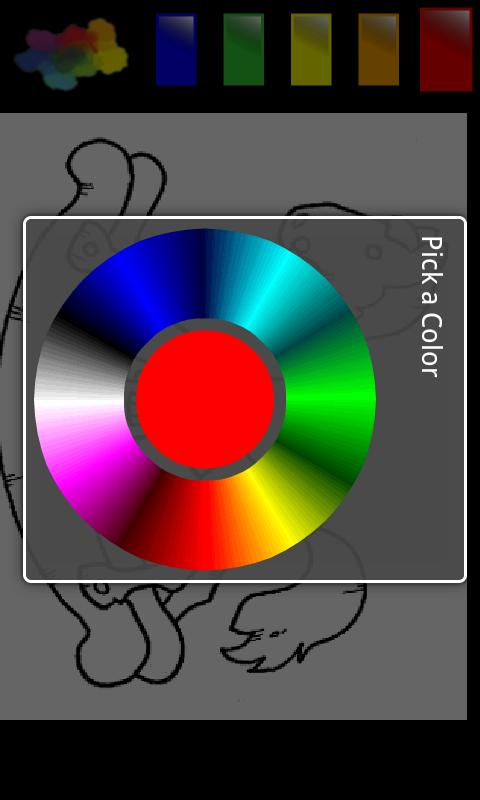 Cartoon color templates 3 - screenshot