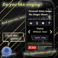 Screenshot of Personal Voice Judge