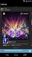 Screenshot of RIX FM