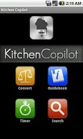 Screenshot of Kitchen Copilot Free