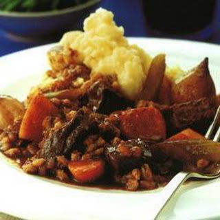Slow-braised Beef And Barley.