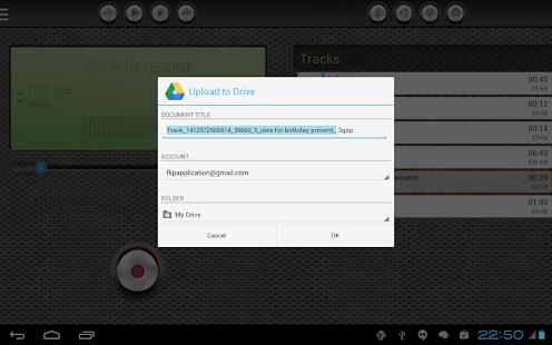 Voice Recorder Pro screenshot